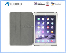 Premium Genuine Leather Case for iPad Air 2 with Fold Stand Function