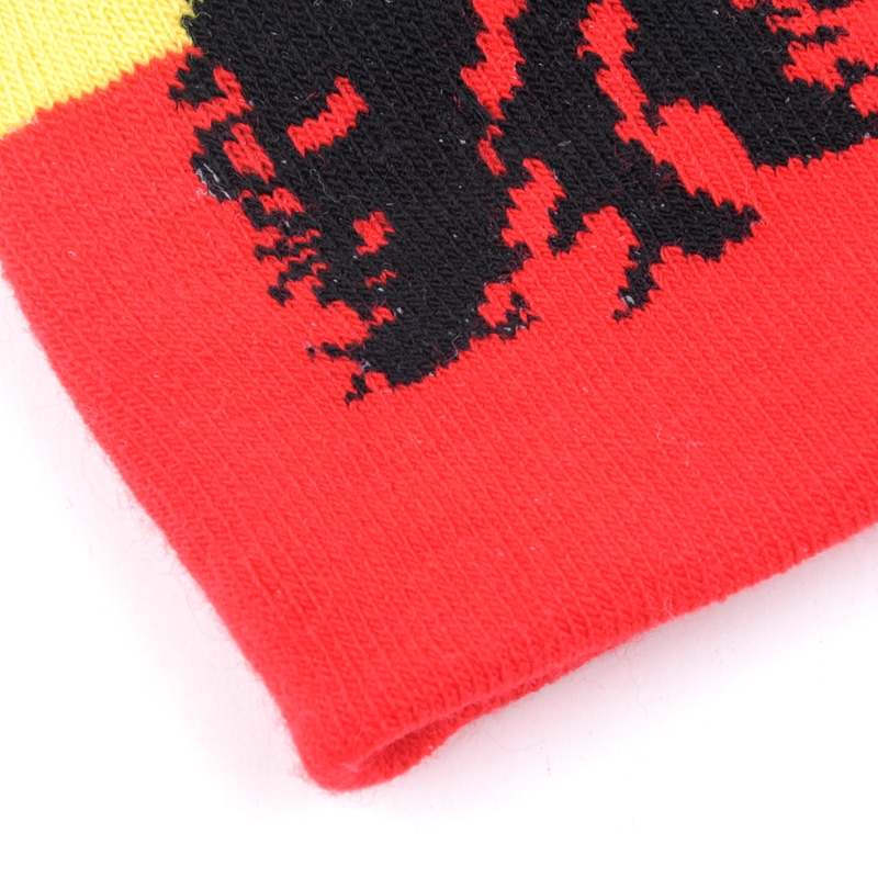 High End Quality 100 Acrylic Designer Cheap Brazilians Jacquard custom image Beanie Hat