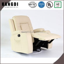 New design modern leather electric massage one seater home sofa