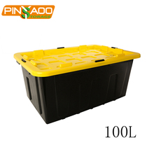 100l Food Grade Multi-Function Plastic Storage Organizers with Handle