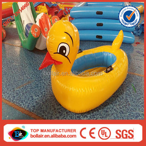 China wholesale small kids inflatable pool duck