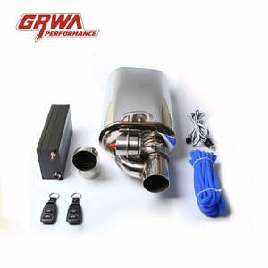 Performance New Style Exhaust Muffler with Control Valve