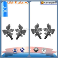 forged steel flowers/cast iron leaves /wrought iron grapes