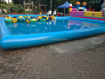 2016 inflatable pools rental/plastic swimming pool for sale