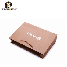 Recycle Brown Ready Made Personalize Plain Paper Bag