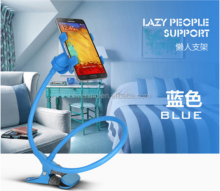 Factory Hot Sale flexible Cell Phone Handle hand free Holder for iPhone iPad android Smartphones