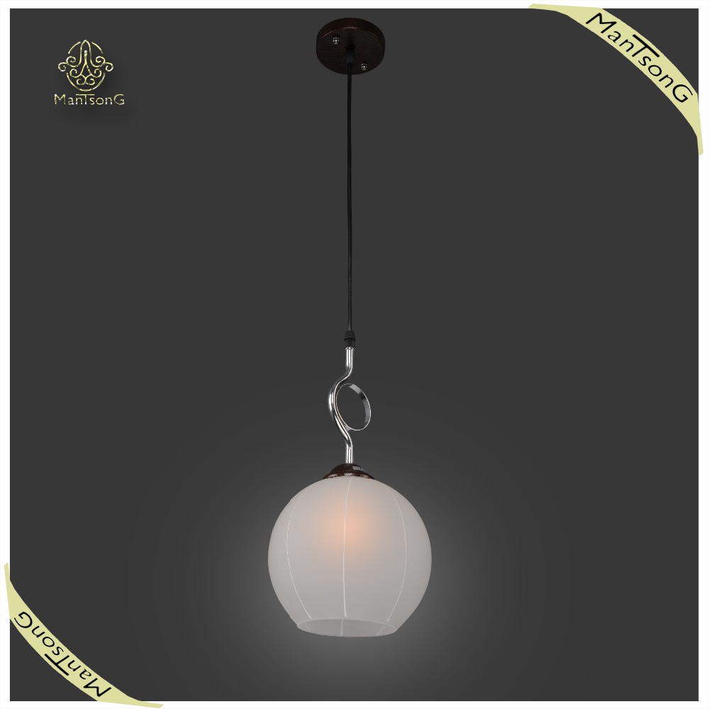 New Designs Indoor Modern Glass Pendant Light Fancy