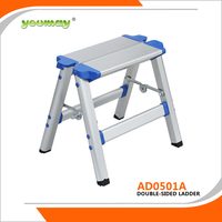 Folding Library Ladder Chair Step Stool