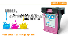 Reset chips for hp61 ink cartridges for HP 61xl ch563he for hp deskjet