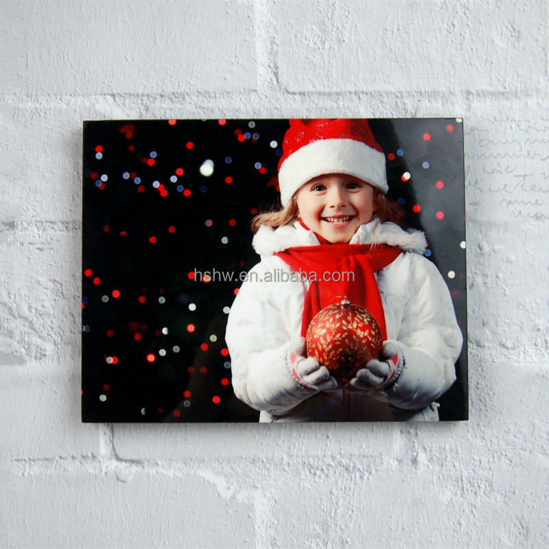 sublimation wooden photo frame,christmas items 2014