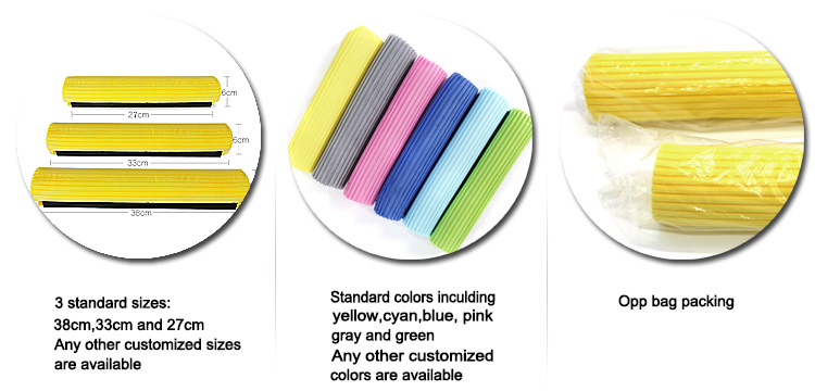 China experienced factory cheap price pva sponge mop squeezer