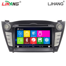 High quality 2din car audio gps navigation system for Hyundai ix35 Entertainment Bluetooth-Enabled MP3 / MP4 Players