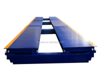 Modular heavy duty 80T digital vehicle weigh station locations,weight scales for vehicles
