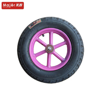 13 inch Factory directly stair climbing sulky wheel mountain board/hand trolley/wheelbarrow wheels with high quality