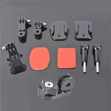 Go pro tripod mount Set, convert Gopros Mount for Common Camera with 1/4 inch connector For Go pro