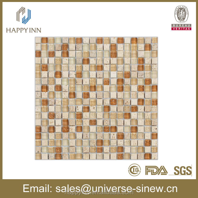 china supplier natural stone mosaic glass tile mosaic swimming pool mosaic tile