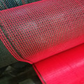 Road construction safety barrier netting
