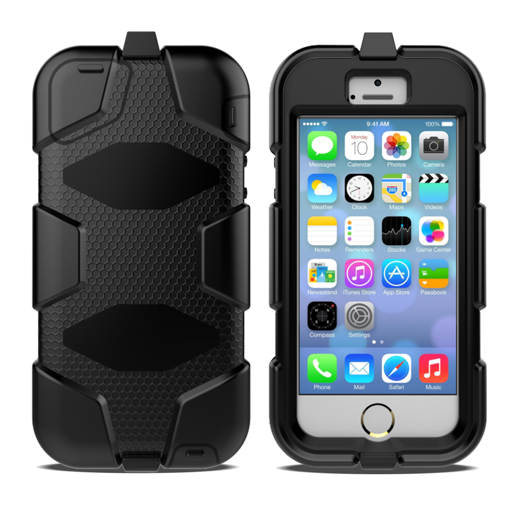 Best Hard PC Silicone Phone Case For iPhone 5 Cellphone Case