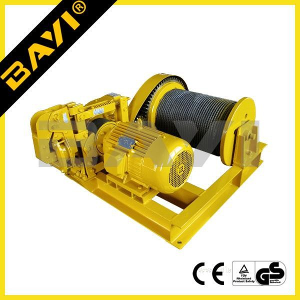 wire rope lifting electrical portable winch used/cable pulling winch machine