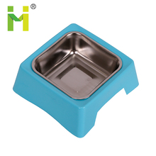 Customize color personalized corner dog bowl