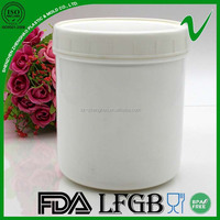 HDPE cylinder round empty storage plastic 5 liter container for food packaging