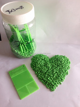 2017 fashion color blow molding products green master batch