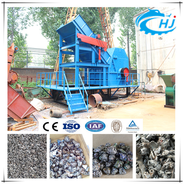 Waste Aluminium Can Crushing/Scrap Metal Crushing/Waste Crushing Machine