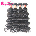 Best quality 100% mink Brazilian hair wavy, natural wave virgin hair, unprocessed human hair extensions