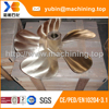 High Speed Wear-resistant 5 Blades Ship Bronze Propeller for Sale