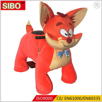 Newest arrival animal rides games toy for kids token operated animal rides animal ride for mall