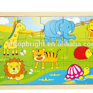 dinosaur wood puzzles 3d puzzle toy educational magnetic toys jigsaw puzzle custom wooden game pieces