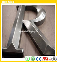 Backlit Led Decorative Metal 3D Wall Letters