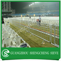Factory price temporary event fence heavy duty safety french barrier for concert