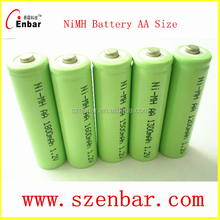 Hot sales nimh 1.2v aa Rechargeable battery