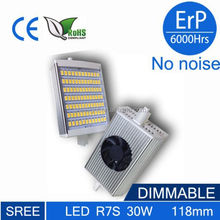 2015 newest High lumen 30w 118mm r7s led light , 360degree high lumen 10w 118mm 2700-6500k led r7s