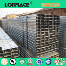 Perforated strut channel for construction