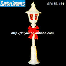 2013 christmas items/Outdoor lighted lamp-post/new christmas decoration with lights