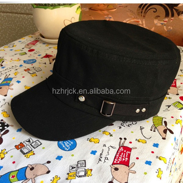 wholesales fashion military round hat military hats for sale