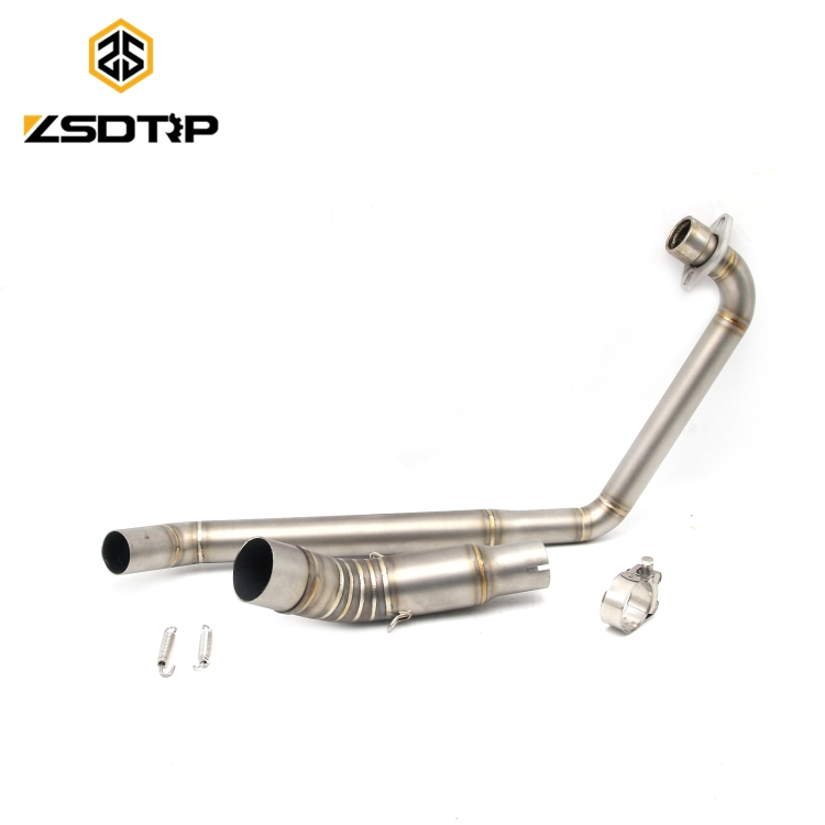 Hot selling stainless steel motorcycle middle <strong>exhaust</strong> pipe full <strong>system</strong> for CBR150 without muffler