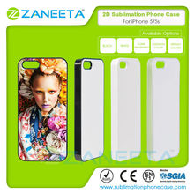 Wholesale 2D Printable Blank Sublimation Cell Phone Cases For Apple iPhone5/5s