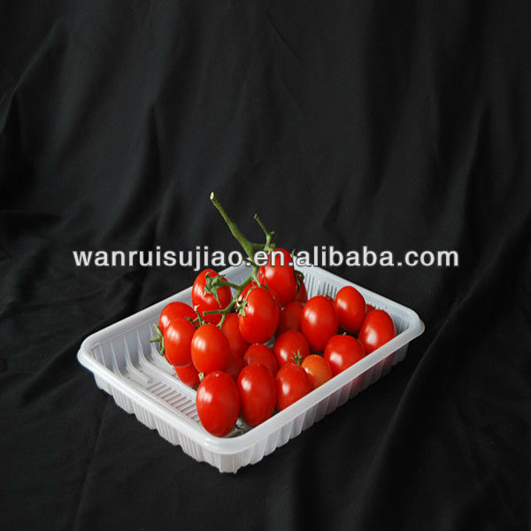 PP large plastic food tray fruit tray vegetable tray , beer pong cup