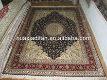 traditional persian tabriz silk carpet factory price,china guangzhou