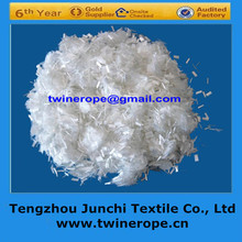 100% 3-19mm high tenacity polyester fiber crack resistance