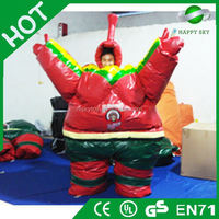 Good Quality inflatable sumo clothes,suits fighting sumo costume,inflatable fighting sumo