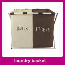 Pop up Folding Laundry Basket - Easy Open Collapsible Storage Hamper