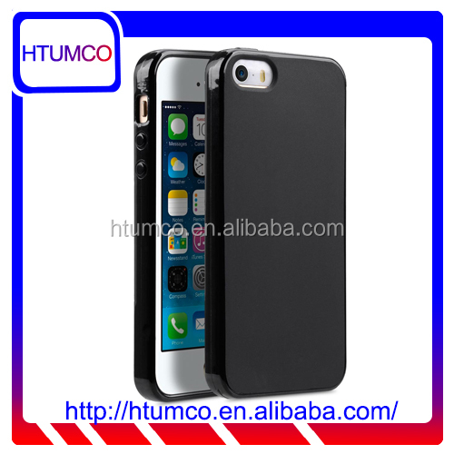 High Quality Poly Black Mat TPU case for Apple iPhone 5s / 5 / SE