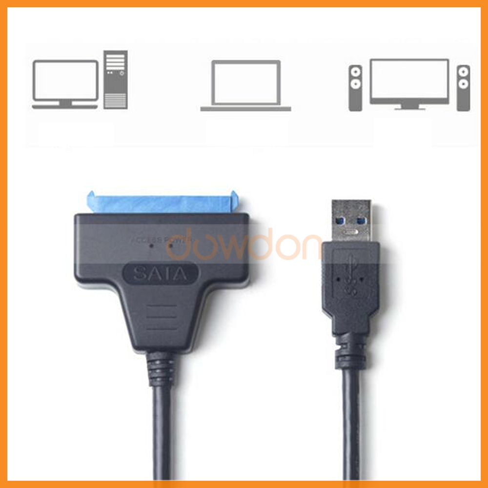 50CM Super Speed Micro USB Cable Connector USB 3.0 To SATA 22 Pin for 2.5 Inch Hard Disk Driver SSD
