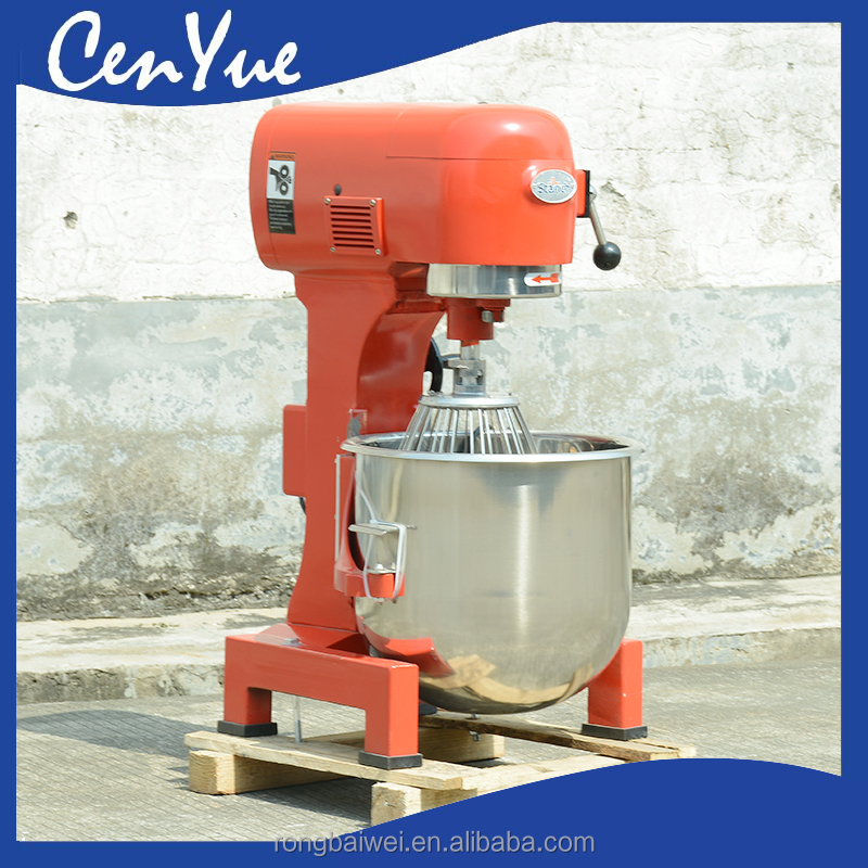 CE 6kg 1.5kw 220/110v bakery flour powder planetary dough kneader, bread stand mixer