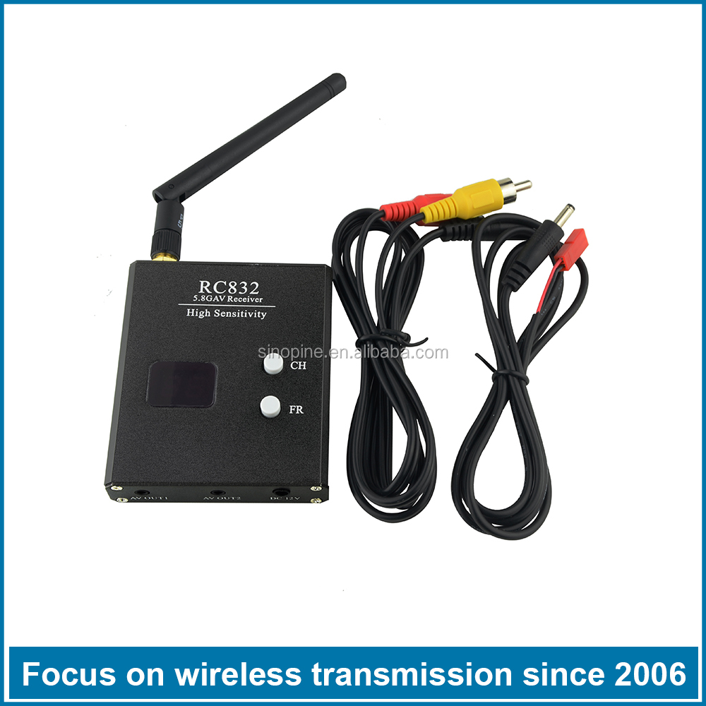 5.8GHz 40CH Wireless FPV Receiver for Racing Drone and Multicopter