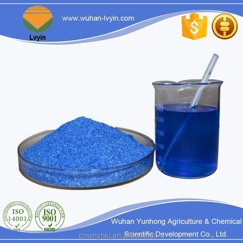 Blue Powder Fertilizer 20-20-20+TE NPK Liquid Water Soluble Fertilizer